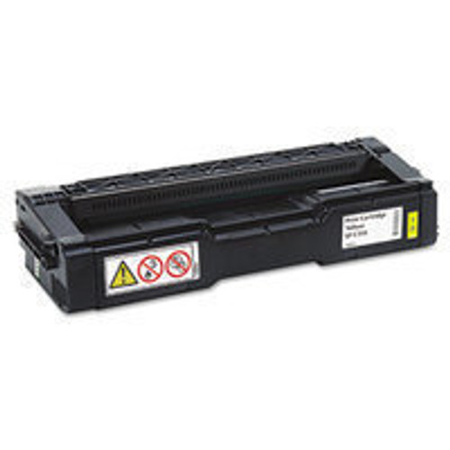 Genuine Ricoh 406478 Yellow High Yield Toner Cartridge for Aficio SP C231, C232, C242, C310, C311, C312, C320 [6,500 Pag