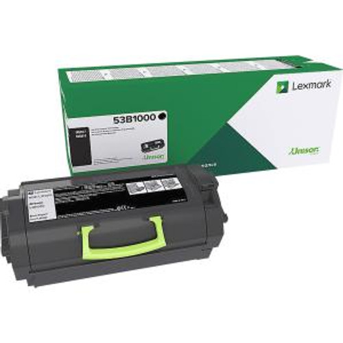 OEM Lexmark 53B1000 Toner Cartridge for MS817, MS818 [11,000 Pages]