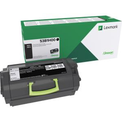 OEM Lexmark 53B1H00 High Yield Toner Cartridge for MS817, MS818 [25,000 Pages]