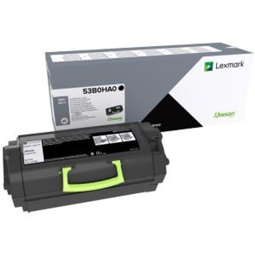 OEM Lexmark 53B0HA0 High Yield Toner Cartridge for MS817, MS818 [25,000 Pages]