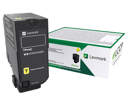 OEM Lexmark 74C1SY0 Yellow Toner Cartridge for CS720, CS725, CX725 [7,000 Pages]