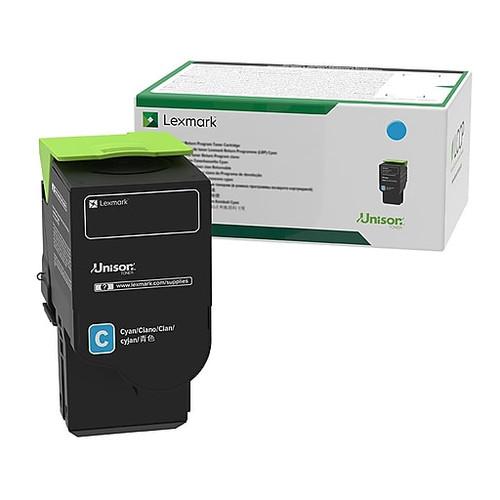 OEM Lexmark 78C10C0 Cyan Standard Yield Toner Cartridge for CS421, CS521, CS622, CX421, CX522, CX622, CX625 [1,400 Pages]
