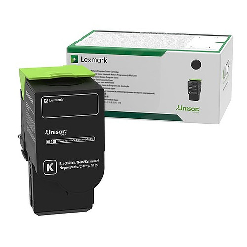 OEM Lexmark 78C10K0 Black Standard Yield Toner Cartridge for CS421, CS521, CS622, CX421, CX522, CX622, CX625 [2,000 Pages]