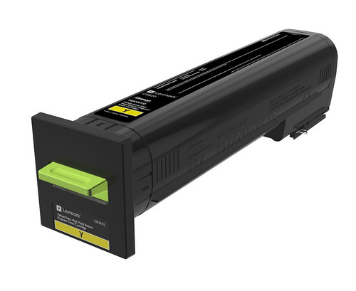 OEM Lexmark 72K1XY0 Yellow Extra High Yield Toner Cartridge for CS820 [22,000 Pages]