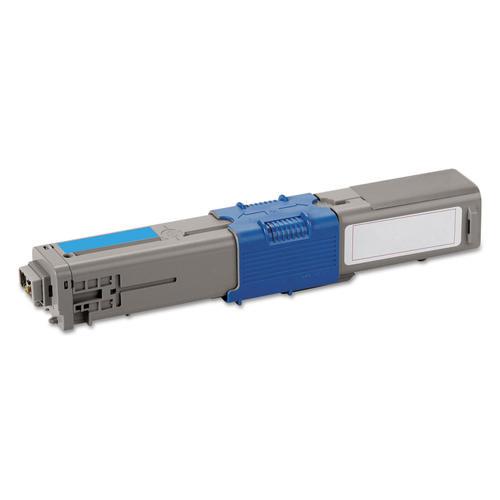 Okidata 44469703 Cyan Standard Yield Compatible Toner Cartridge