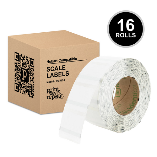 "2.25"" x 1.75"" Hobart Quantum QWU175 Scale Labels (H250) 