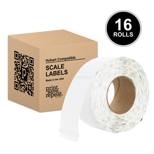 "2.25"" x 4.5"" Hobart Quantum QWU450 Scale Labels (H251) 
