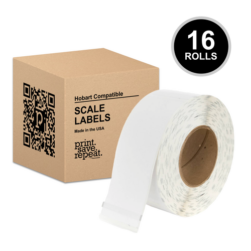 "2.25"" x 6"" Hobart Quantum QWU600 Scale Labels (H252) 