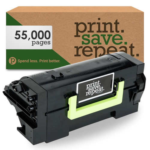 Lexmark 58D1U00 Ultra High Yield Remanufactured Toner Cartridge for MS725, MS823, MS824, MS825, MS826, MX722, MX725, MX822, MX824, MX826 [55,000 Pages]