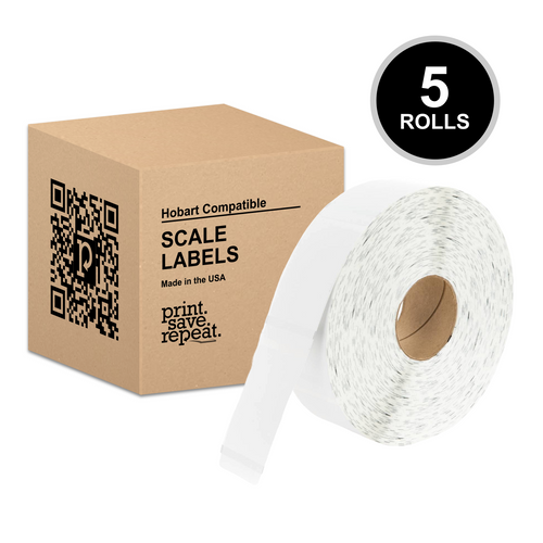 "2.25"" x 3.5"" Hobart Ultima UWU350 Scale Labels 