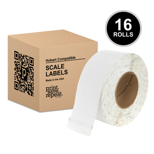 "2.25"" x 8"" Hobart Quantum QWU800 Scale Labels 