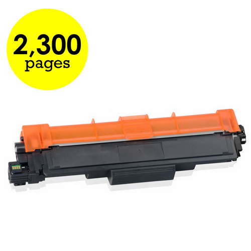 Brother TN-227Y Yellow High Yield Compatible Toner Cartridge [2,300 Pages]