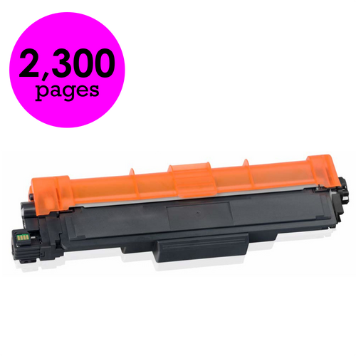 Brother TN-227M Magenta High Yield Compatible Toner Cartridge [2,300 Pages]