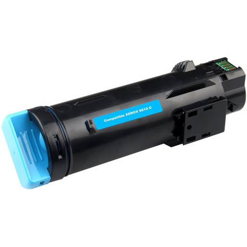 Xerox 106R03477 Cyan High Yield Compatible Toner Cartridge for Phaser 6510, WorkCentre 6515 [2,400 Pages]