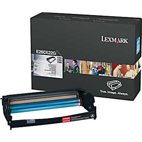 Genuine Lexmark E260X22G Photoconductor (PC) Kit [30,000 Pages]