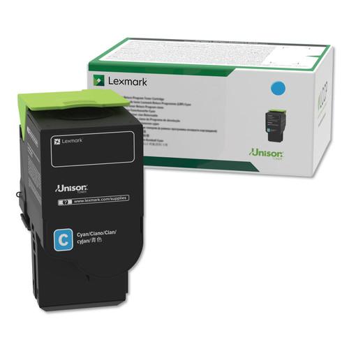 OEM Lexmark C2310C0 Cyan Toner Cartridge [1,000 Pages]