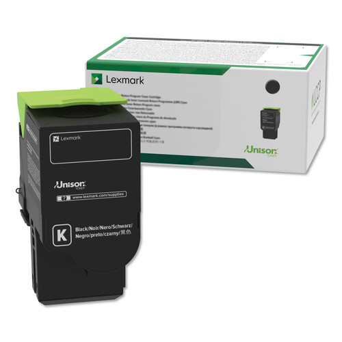 OEM Lexmark C231HK0 Black High Yield Toner Cartridge [3,000 Pages]