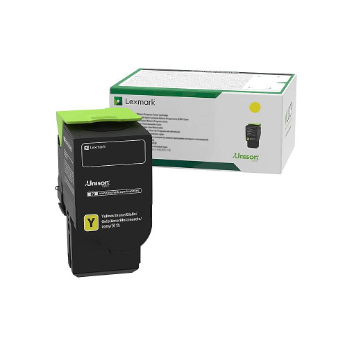 OEM Lexmark C2310Y0 Yellow Toner Cartridge [1,000 Pages]