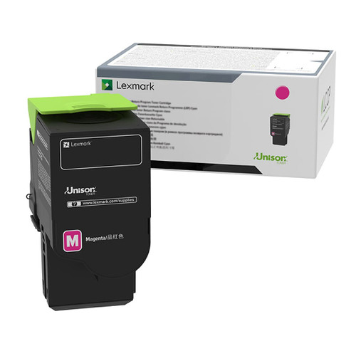 OEM Lexmark C241XM0 Magenta Extra High Yield Toner Cartridge [3,500 Pages]