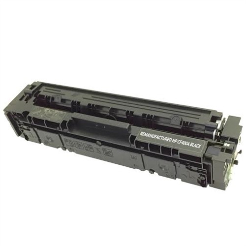 Print.Save.Repeat. HP CF400A (201A) Black Compatible Toner Cartridge for Color LaserJet Pro MFP M252, M274, M277 [1,500 Pages]