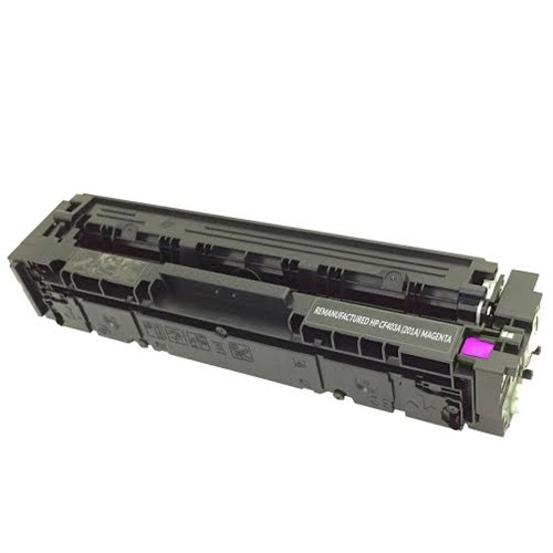 Print.Save.Repeat. HP CF403A (201A) Magenta Compatible Toner Cartridge for Color LaserJet Pro MFP M252, M274, M277 [1,400 Pages]