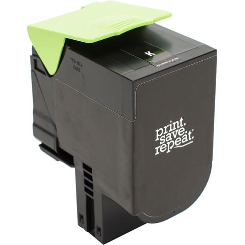 Print.Save.Repeat. Lexmark 700H1 Black High Yield Remanufactured Toner Cartridge for CS310, CS410, CS510 [4,000 Pages]
