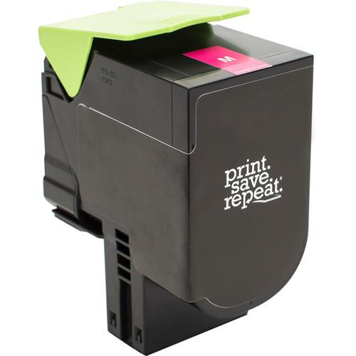 Print.Save.Repeat. Lexmark 700H3 Magenta High Yield Remanufactured Toner Cartridge for CS310, CS410, CS510 [3,000 Pages]