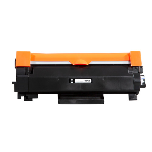 Brother TN-760 High Yield Compatible Toner Cartridge [3,000 Pages]