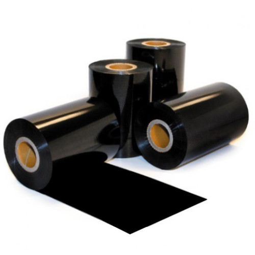 "4.33"" x 1,476' Thermal Transfer Ribbons for Zebra Industrial Printers   Premium Wax   1"" Core [24 Rolls]"