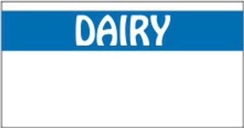 "Monarch 1110 Dairy .38"" x .733""1,063 per roll. 16 rolls per sleeve. 17,000 labels per sleeve. 15 sleeves per case. 255,000 labels per case."