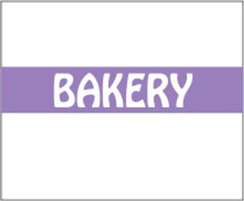 "Monarch 1115 Bakery .60"" x .733"" 1500 labels per roll. 10 rolls per sleeve. 15,000 labels per sleeve. 16 sleeves per case. 240,000 labels per case."