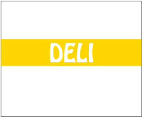 "Monarch 1115 Deli .60"" x .733""1500 labels per roll. 10 rolls per sleeve. 15,000 labels per sleeve. 16 sleeves per case. 240,000 labels per case."