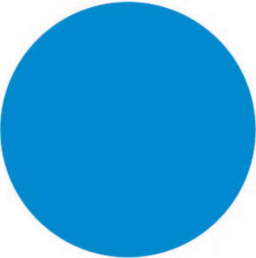 "1"" Circle - 1000 per roll. FreshDate� Blue Blank circle - All Temperature Permanent"