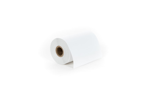 4 inch Zebra Linerless Label Roll 8000D