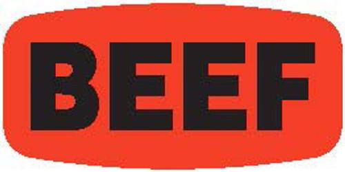 """Beef - No Minimum - .625"""" x 1.25"""" - 1000 per roll"""