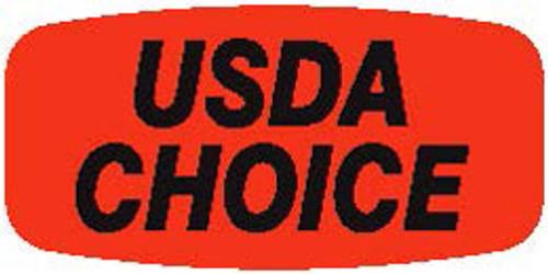 "USDA Choice - No Minimum - .625"" x 1.25"" - 1000 per roll"