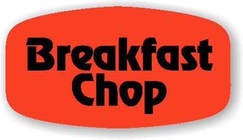 """Breakfast Chops - No Minimum - .625"""" x 1.25"""" - 1000 per roll"""
