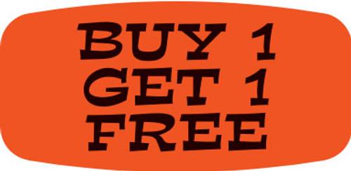 """Buy 1 Get 1 Free - No Minimum - .625"""" x 1.25"""" - 1000 per roll"""