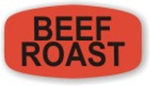 """Beef Roast - No Minimum - .625"""" x 1.25"""" - 1000 per roll"""