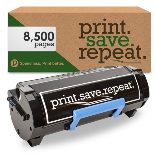 Dell 2PFPR High Yield Remanufactured Toner Cartridge for B2360, B3460, B3465 [8,500 Pages]