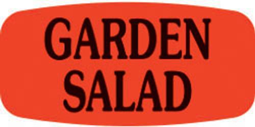 "Garden Salad - No Minimum - .625"" x 1.25"" - 1000 per roll"