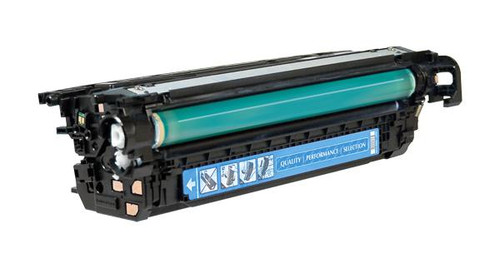 HP 648A (CE261A) Cyan Remanufactured Toner Cartridge [11,000 Pages]
