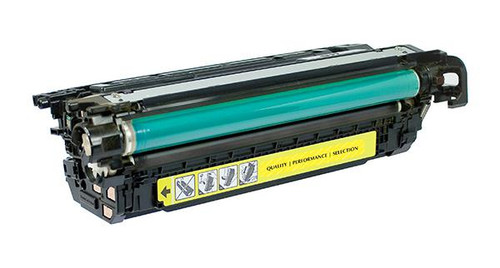 HP 648A (CE262A) Yellow Remanufactured Toner Cartridge [11,000 Pages]