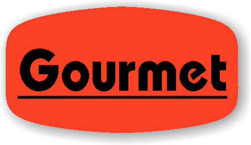 "Gourmet - No Minimum - .625"" x 1.25"" - 1000 per roll"