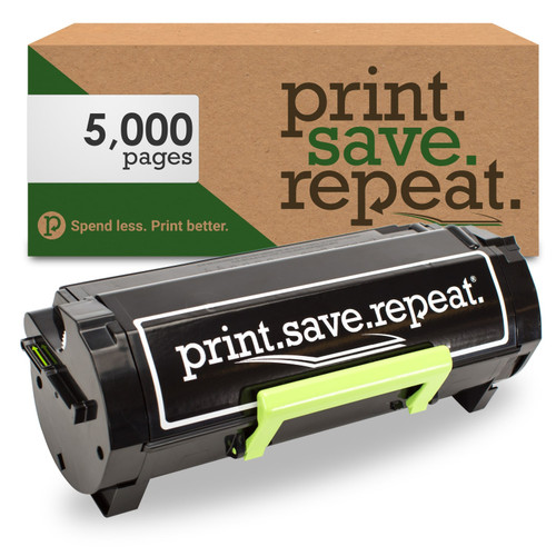 Lexmark 501H High Yield Remanufactured Toner Cartridge (50F1H00) for MS310, MS312, MS315, MS410, MS415, MS510, MS610 [5,000 Pages]
