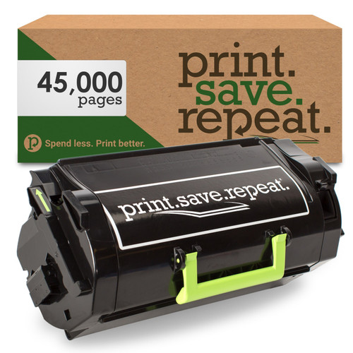 Lexmark 621XE Extra High Yield Remanufactured Toner Cartridge (62D1X0E) for MX711, MX810, MX811, MX812 [45,000 Pages]