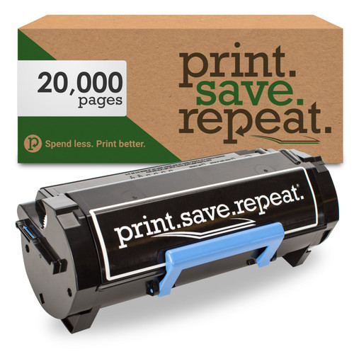 Dell 9GG2G Extra High Yield Remanufactured Toner Cartridge for B3460 [20,000 Pages]