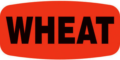 """Wheat - 10 Roll Minimum - .625"""" x 1.25"""" - 1000 per roll. If you are ordering 10 ROLL MINIMUM Short Ovals, your ENTIRE ORDER will be shipped in approximately 14 Business Days."""
