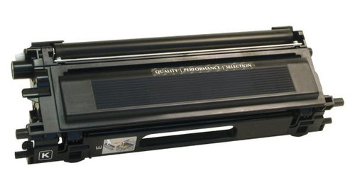 Brother TN115BK Black High Yield Remanufactured Toner Cartridge [5,000 Pages]
