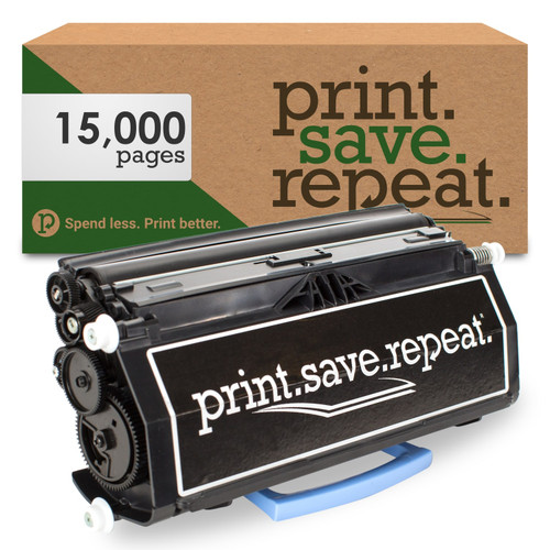 Lexmark E460X21A Extra High Yield Remanufactured Toner Cartridge for E460, E462 [15,000 Pages]